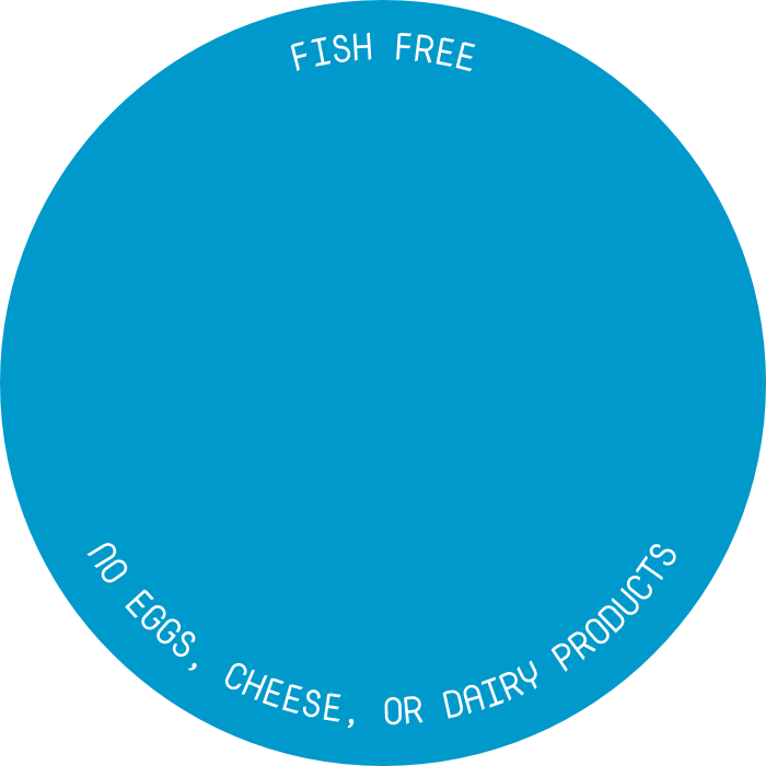 Icon indicating that recipe is good for fish allowed days. Click for more details